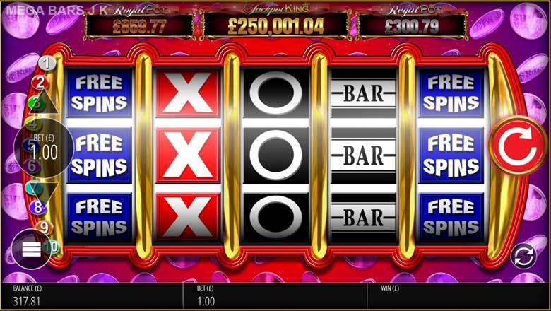 Mega Bars Jackpot King สล็อตค่าย BPG SLOT